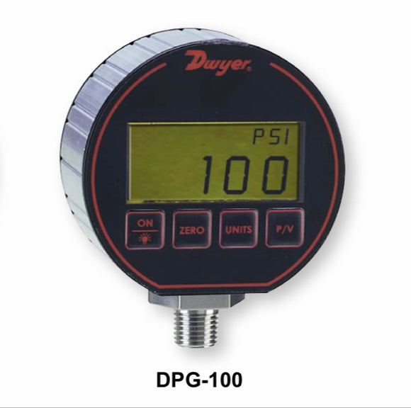 Dwyer Series DPG-100 Digital Pressure Gauge