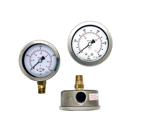 Afriso Heavy Duty 63mm Pressure Gauge