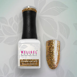 WellGel London Gel Nagellak, Crushed Fire Opal 10 ml