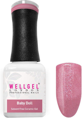 WellGel London Gel Nagellak, Baby Doll 10 ml