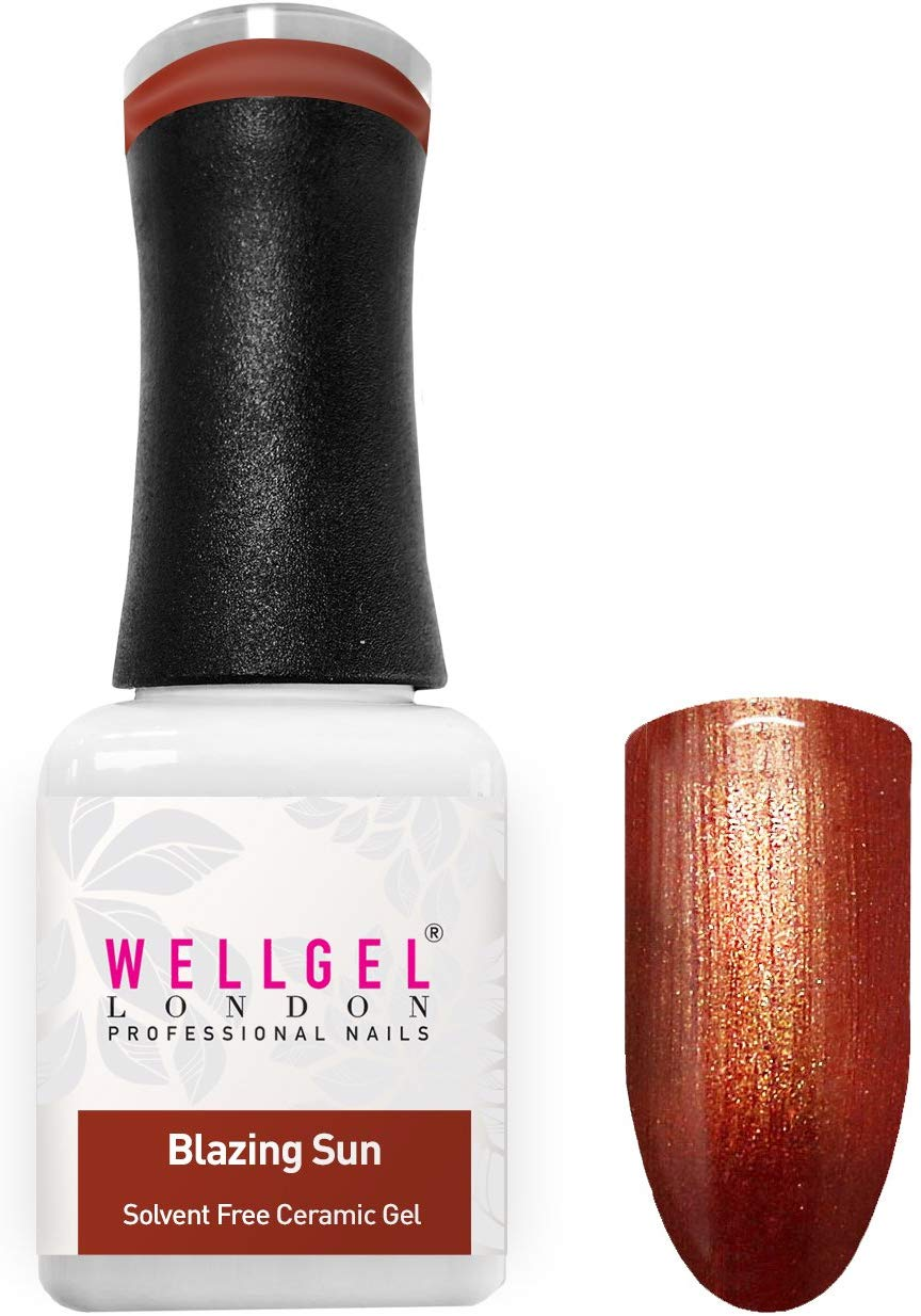 WellGel London Gel Nagellak, Blazing Sun 10 ml