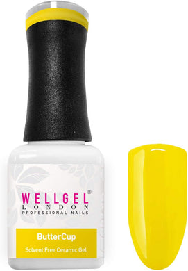 WellGel London Gel Nagellak, Butter cup 10 ml