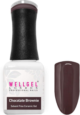WellGel London Gel Nagellak, Chocolate Brownie 10 ml