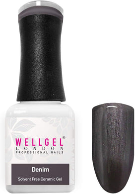 WellGel London Gel Nagellak, Denim 10 ml