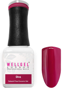 WellGel London Gel Nagellak, Diva 10 ml
