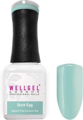 WellGel London Gel Nagellak, Duck Egg 10 ml