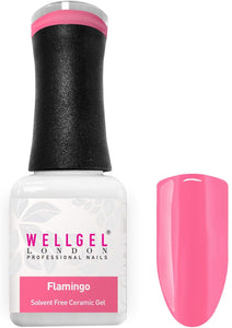 WellGel London Gel Nagellak, Flamingo 10 ml