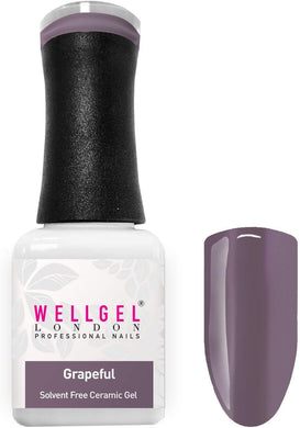 WellGel London Gel Nagellak, Grapeful 10 ml