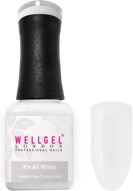 WellGel London Gel Nagellak, Its All White 10 ml