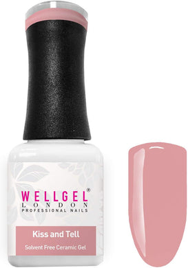 WellGel London Gel Nagellak, Kiss and Tell 10 ml