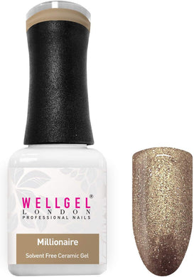WellGel London Nail Gel Polish, Millionaire 10 ml