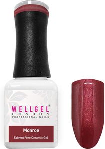 WellGel London Nail Gel Polish, Monroe 10 ml