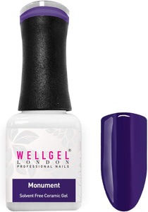WellGel London Nail Gel Polish, Monument 10 ml