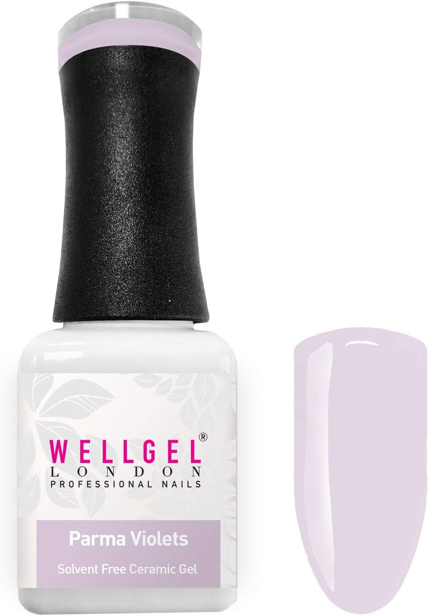 WellGel London Nail Gel Polish, Parma Violets 10 ml