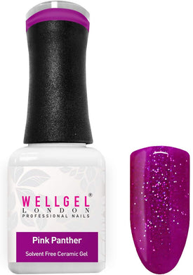 WellGel London Nail Gel Polish, Pink Panther 10 ml