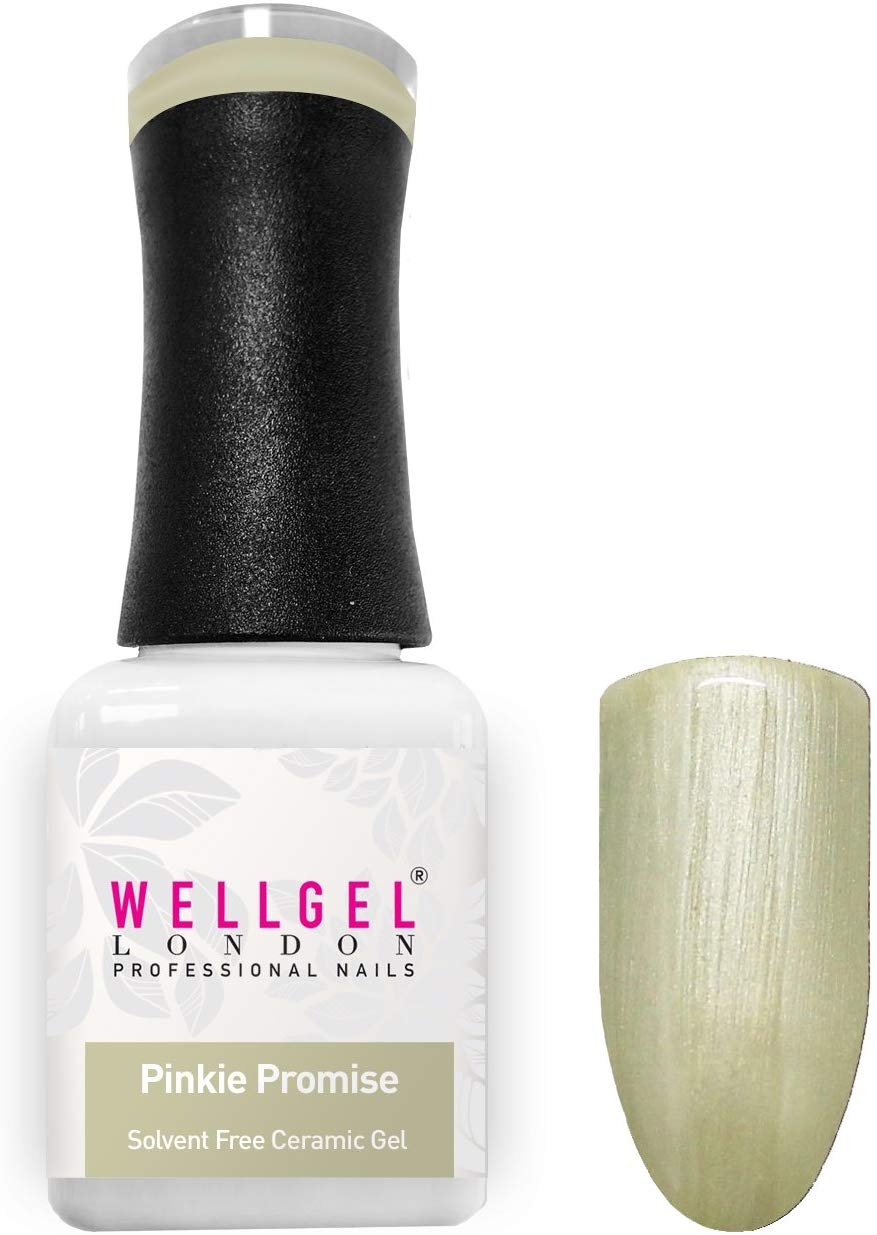 WellGel London Nail Gel Polish, Pinkie Promise 10 ml