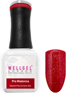 WellGel London Nail Gel Polish, Pre Madonna 10 ml