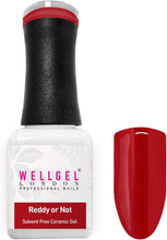 Afbeelding in Gallery-weergave laden, WellGel London Nail Gel Polish, Reddy Or Not 10 ml