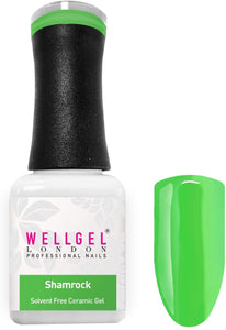WellGel London Nail Gel Polish, ShamRock 10 ml