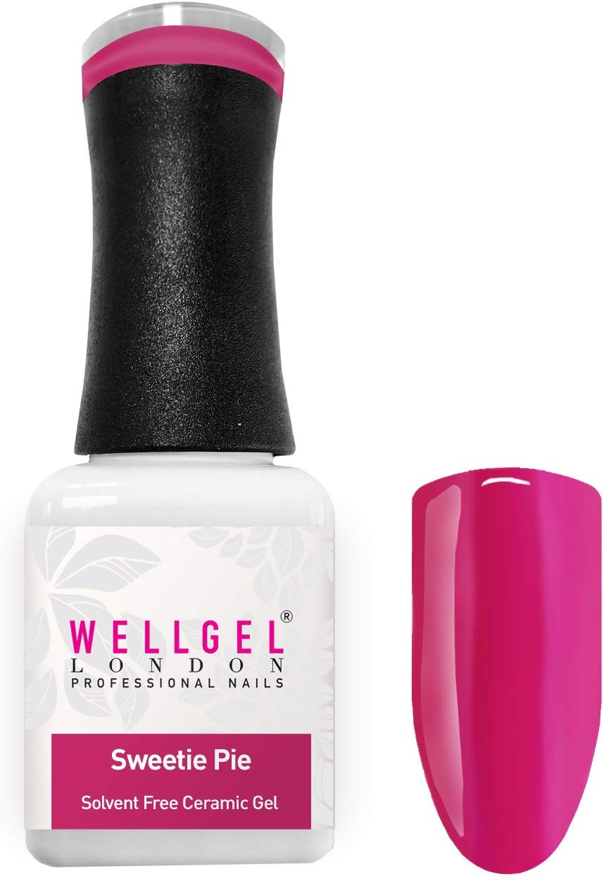 WellGel London Nail Gel Polish, Sweetie Pie 10 ml