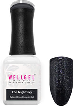 Afbeelding in Gallery-weergave laden, WellGel London Nail Gel Polish, The Night Sky 10 ml
