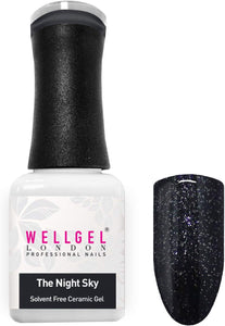 WellGel London Nail Gel Polish, The Night Sky 10 ml