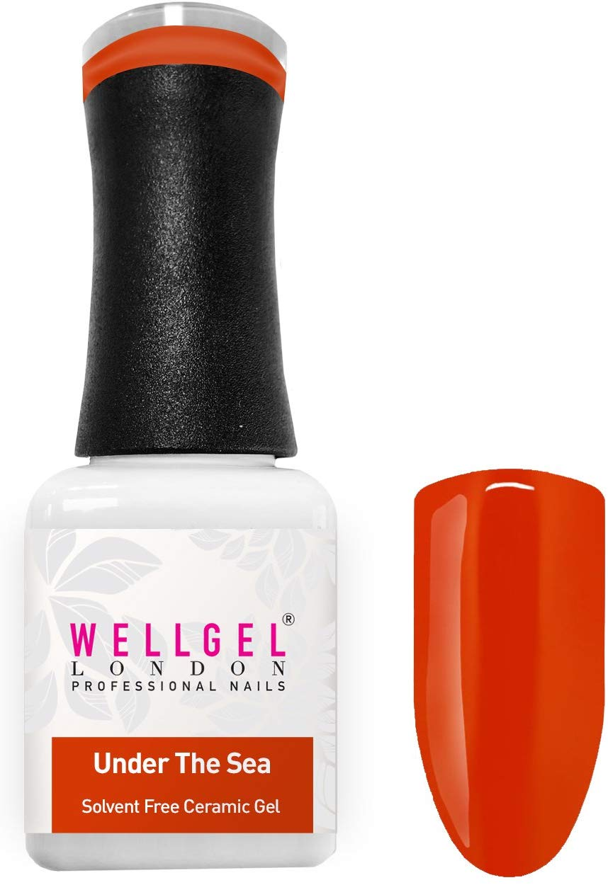 WellGel London Nail Gel Polish, Under The Sea 10 ml