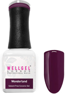 WellGel London Nail Gel Polish, Wonderland 10 ml