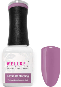 WellGel London Professional Nail Gel Polish, Lav In Da Morning