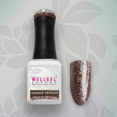 WellGel London Gel Nagellak, Crushed Obsidian 10 ml