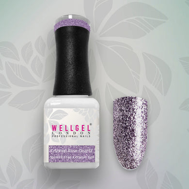 WellGel London Gel Nagellak, Crushed Rose Quartz 10 ml