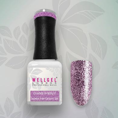 WellGel London Nail Gel Polish, Crushed Amethist 10 ml