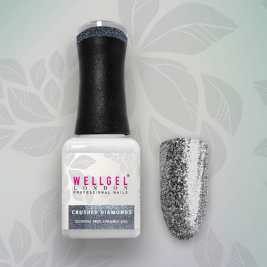 WellGel London Nail Gel Nagellak, Crushed Diamonds 10 ml
