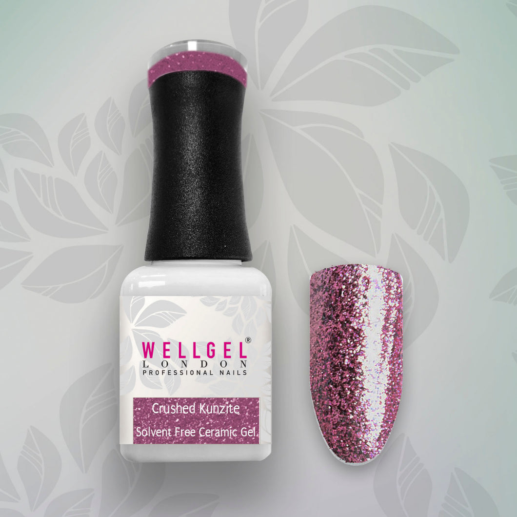 WellGel London Nail Gel Polish, Crushed Kunzite 10 ml