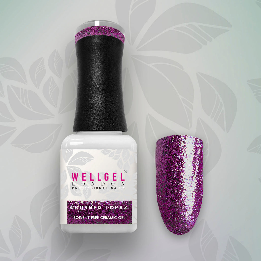 WellGel London Nail Gel Nagellak, Crushed Topaz 10 ml