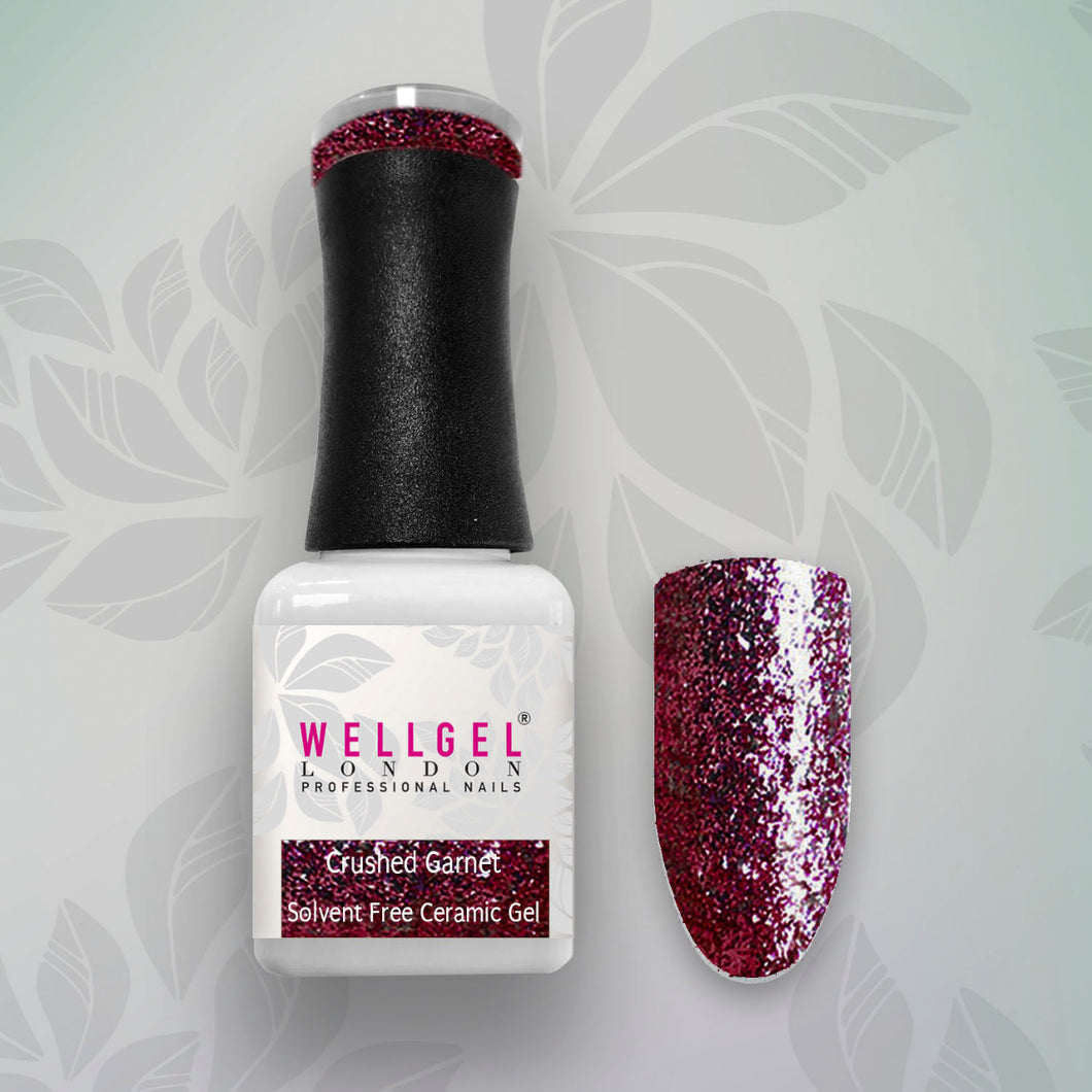 WellGel London Gel Nagellak, Crushed Garnet 10 ml