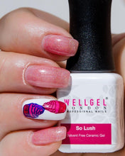 Afbeelding in Gallery-weergave laden, WellGel London Nail Gel Polish, So Lush 10 ml