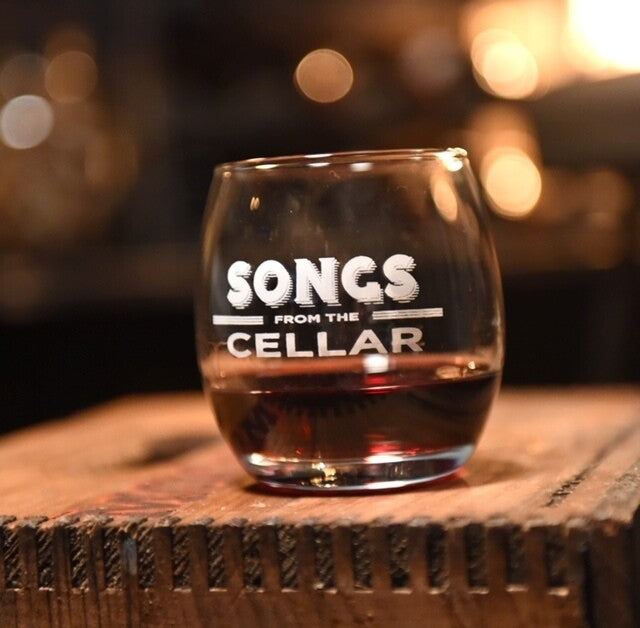 Songs from the Cellar Wine Glass