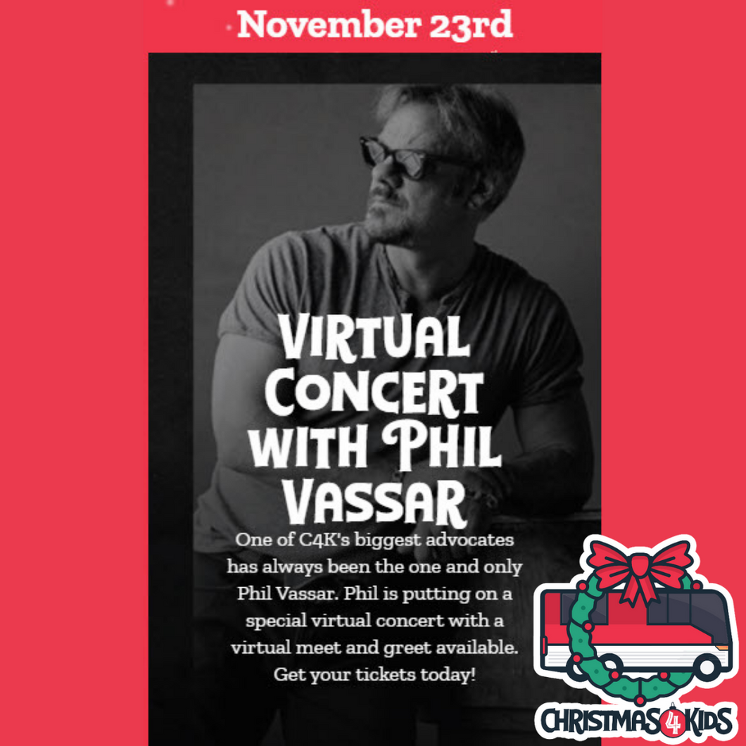 CHRISTMAS 4 KIDS PHIL (LIVE STREAM)  NOVEMBER 23rd ~ 7PM CENTRAL