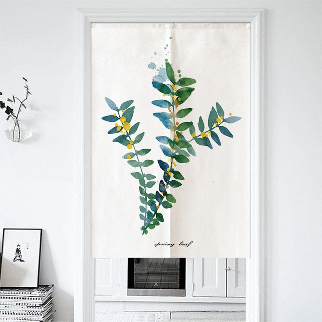 Tadasu Leaflet Kitchen Door Curtain