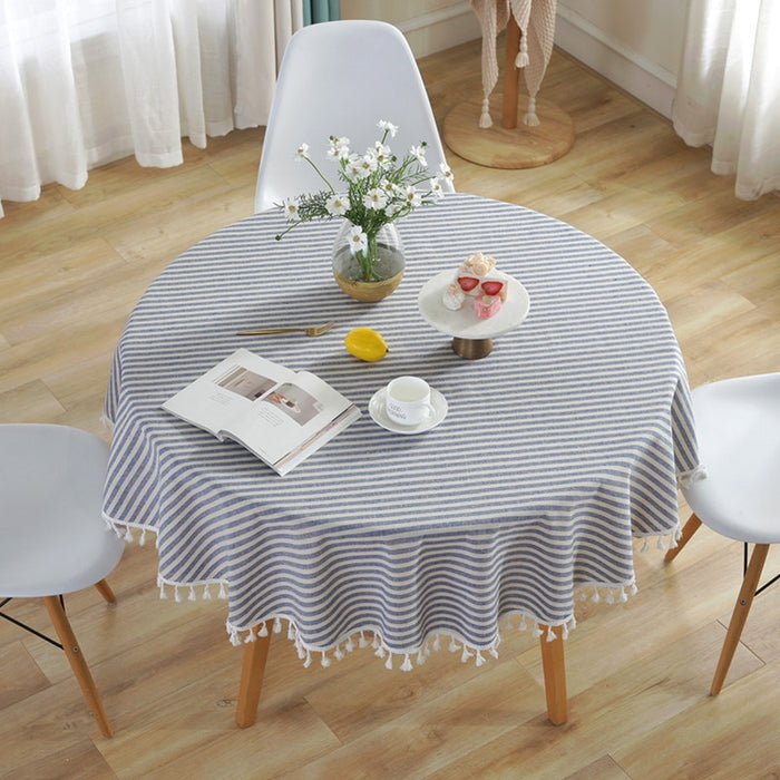 Rikku Blue Table Cover