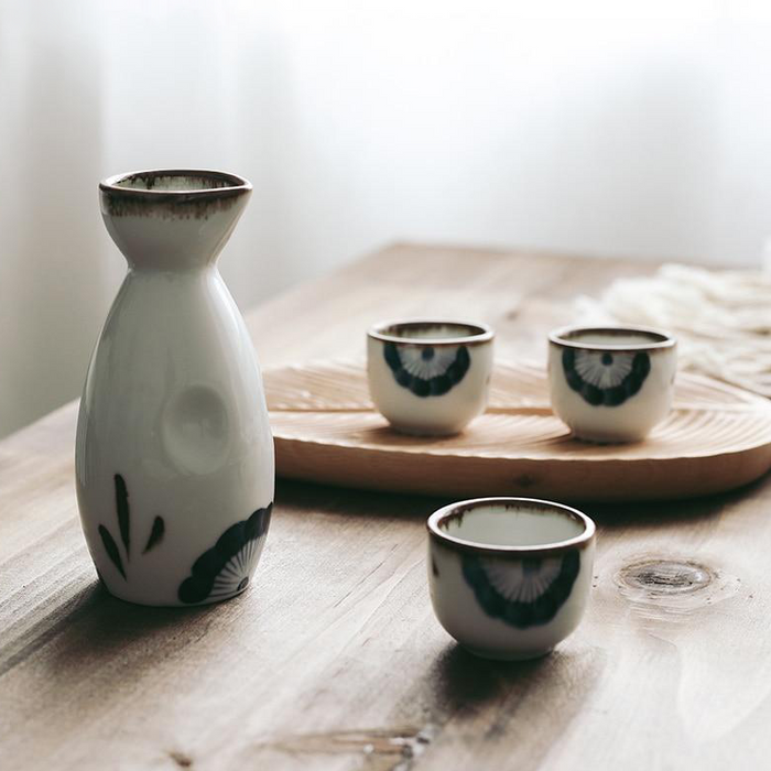 Rux Ceramic Wine Set