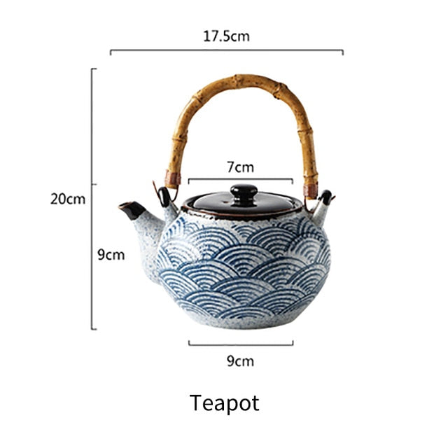 Rux Ceramic Teapot and Cup