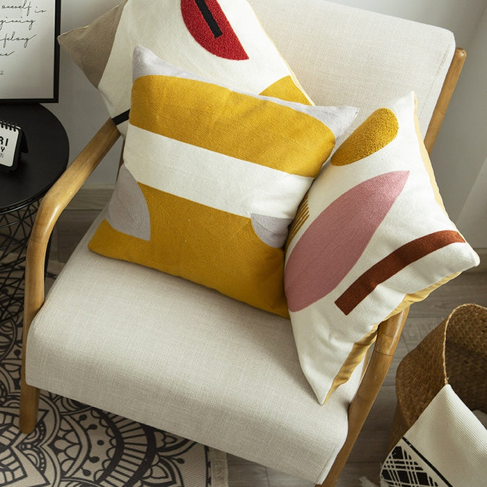 Gia Geometric Cushion Cover