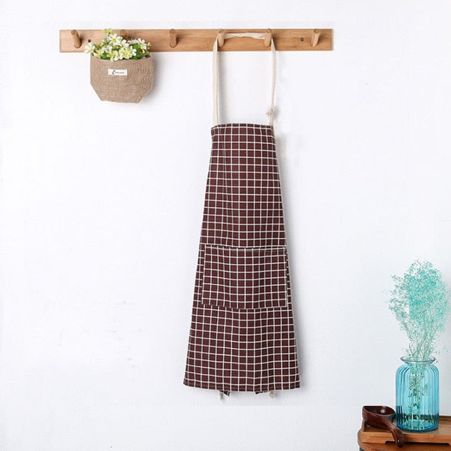 Nordic Maroon Kitchen Apron