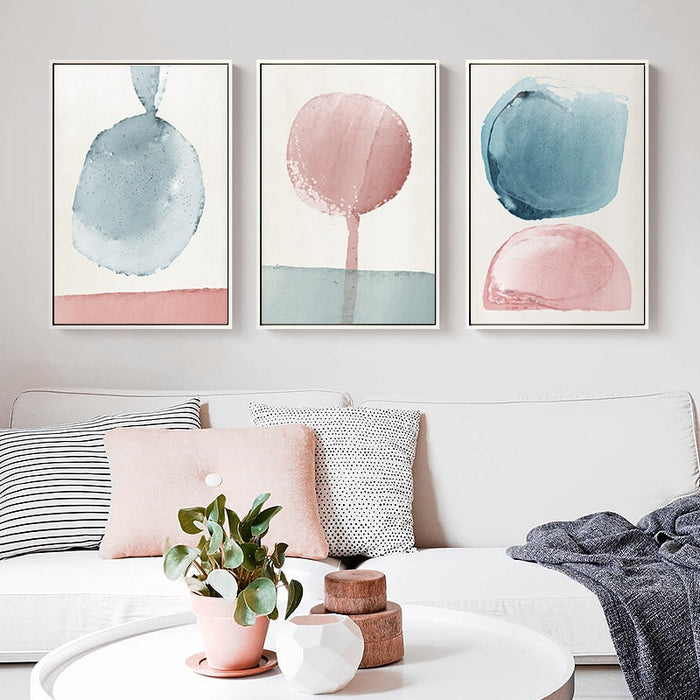 Lia Abstract Painting Set
