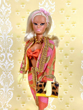 "Load image into Gallery viewer, ""Gilded Gadabout in Citrus"" - OOAK Doll"