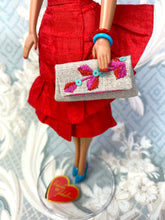 "Load image into Gallery viewer, ""Fabiola Flounce in Red"" OOAK"