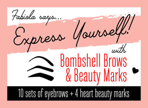 Bombshell Brows & Beauty Marks