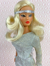 "Load image into Gallery viewer, ""Silver Screen Goddess"" - OOAK Doll"